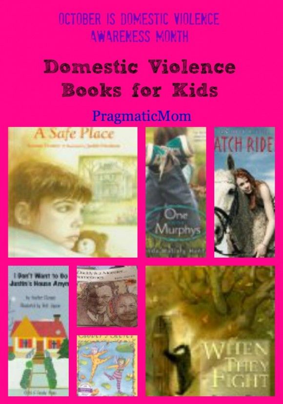 Domestic Violence Books for Kids :: PragmaticMom {October is Domestic Violence Awareness Month}