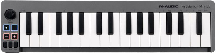 Clavier Midi USB 32 Mini Touches KEY-MINI32 M-audio en ligne - Achat de M-audio Clavier Midi USB 32 Mini Touches KEY-MINI32