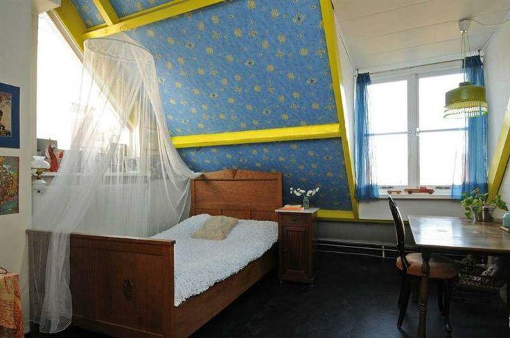 25 beste idee n over hoog plafond slaapkamer op pinterest for Slaapkamer op de zolderfotos