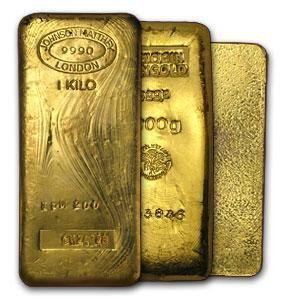 1 kg Gold Bullion Bars