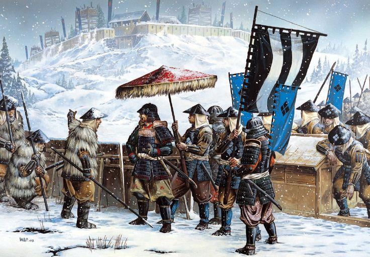 1557 Asedio y toma del castillo de Katsurayama - Wayne Reynolds