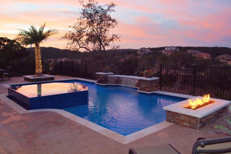 9 Best Fire With Pools And Spas The Wetflame Tm Images