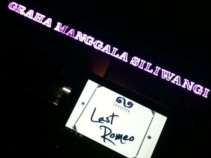 #LastRomeo at Graha Manggala Siliwangi