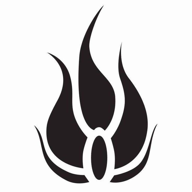 RWBY Blake Emblem Vinyl Decal (Black)