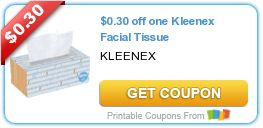 Tri Cities On A Dime: SAVE $0.30 ON KLEENEX FACIAL TISSUE