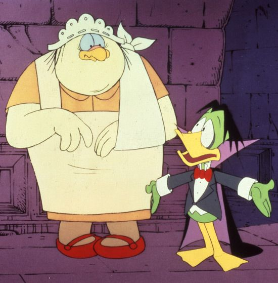 Nanny and Count Duckula.
