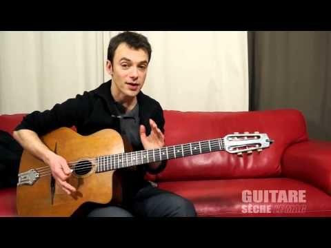 gypsy jazz guitar lesson : I'll see you in my dreams , django chorus - YouTube