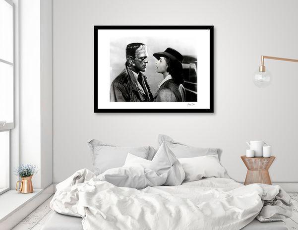 Discover «Frankenstein in Casablanca», Exclusive Edition Fine Art Print by Luigi Tarini - From $25 - Curioos
