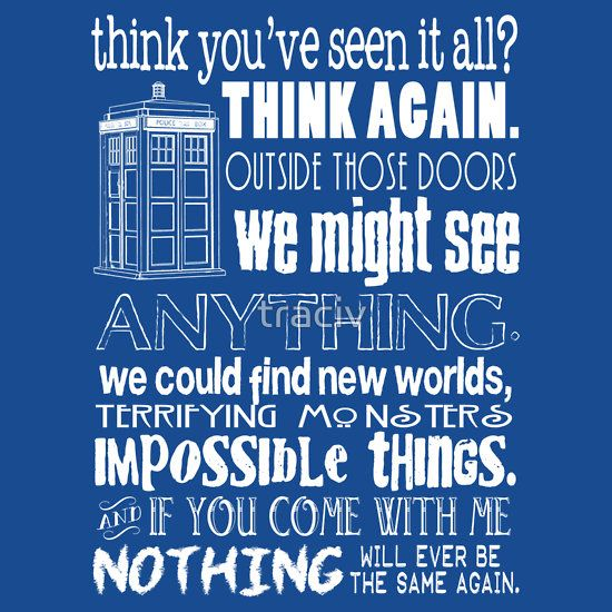 Doctor Who Insp... Doctor Who Quotes