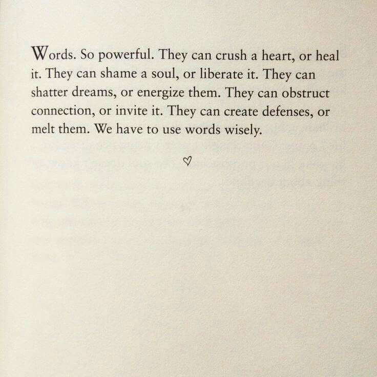 "Believe this is an extract from The first agreement - ""Be impeccable with your word"" - from 'The Four Agreements' by Don Miguel Ruiz."