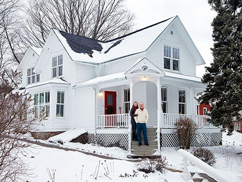 A Scandinavian Christmas In Wisconsin Home Still Rustic