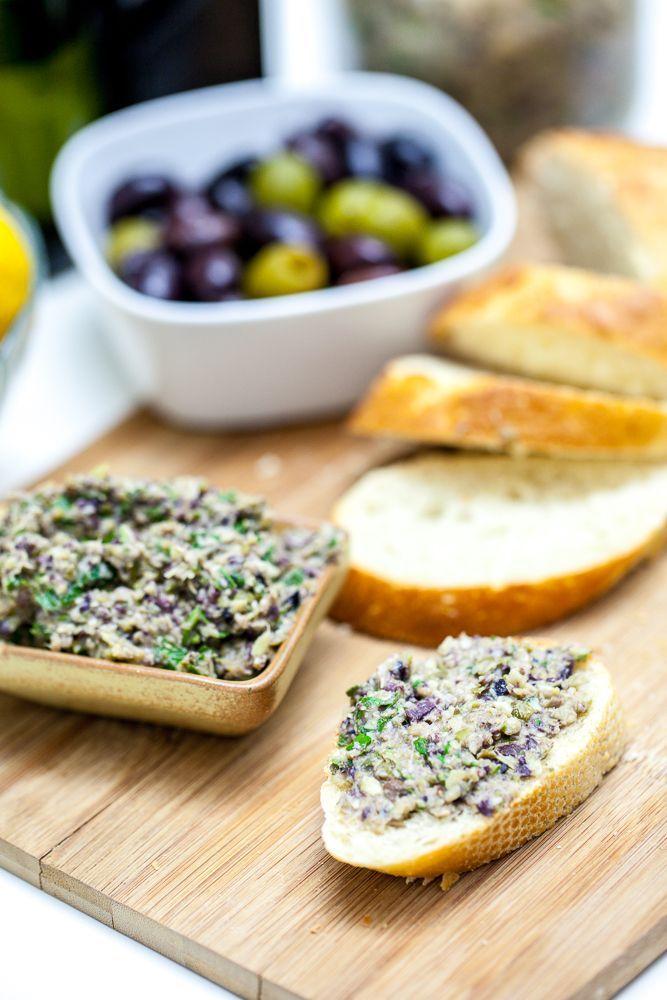 Vegan Artichoke Olive Tapenade from the Keepin' It Kind blog