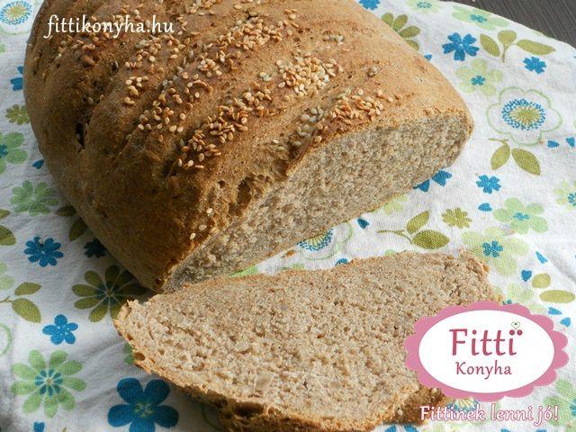 Teljes kiőrlésű kenyér - Szilvi ÍzVilág