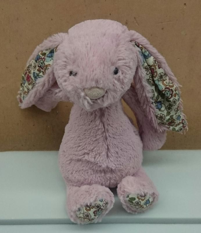 Found on 29 Mar. 2016 @ Nottingham Railway Station, Carrington St NG2 3AQ . Little Pink Bunny left in the Ticket Office at Nottingham Railway Station awaiting it's owners return. One ear has signs of being chewed. Visit: https://whiteboomerang.com/lostteddy/msg/84k8cd (Posted by Frances Bridgeman on 06 Apr. 2016)