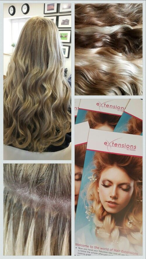 Hot Fusion Hair Extensions. Love this method perfect for most hair types.