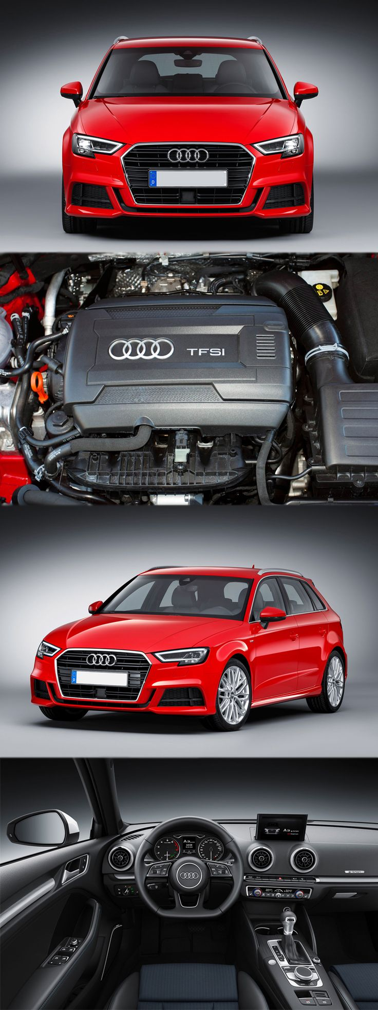 Sneak Peek-Audi A3 Revamped Look and Design Read more details at: https://www.enginefitters.co.uk/car/18082/audi-a3-sportback-hatchback/engines