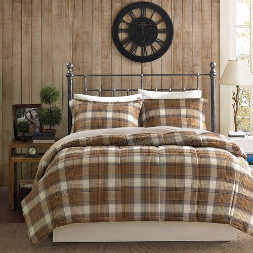 shop woolrich lumberjack comforter set the home decorating company