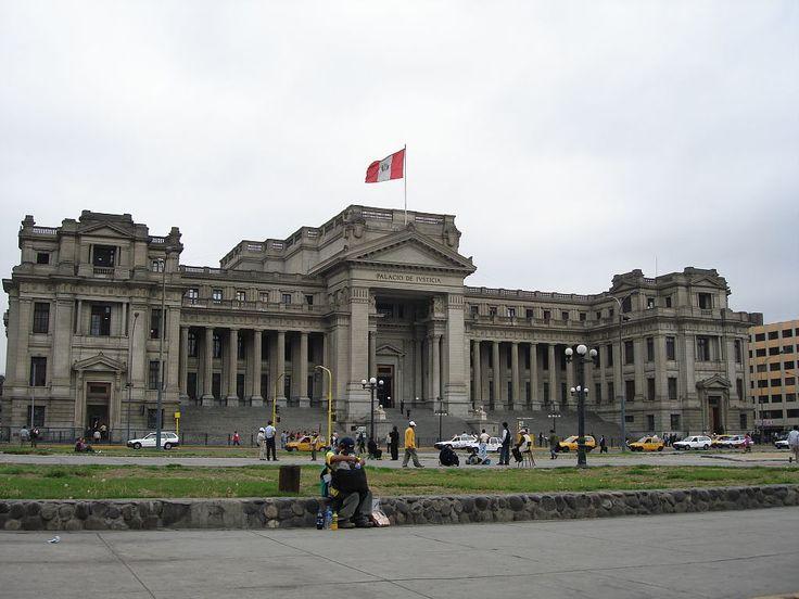 Palacio de Justicia de Lima, sede de la Corte Suprema de Justicia del Perú.