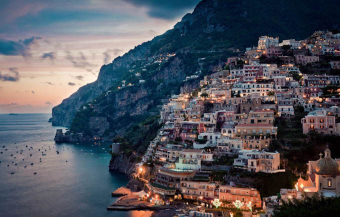 Amalfi coast, Italy.   Everything there was wonderful - scenery, food, people.