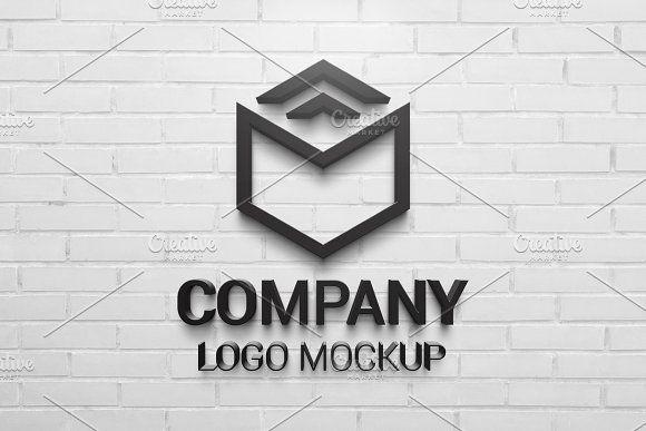 Photoshop logo mockup
