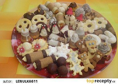 Vánoční cukroví 2014 recept - TopRecepty.cz