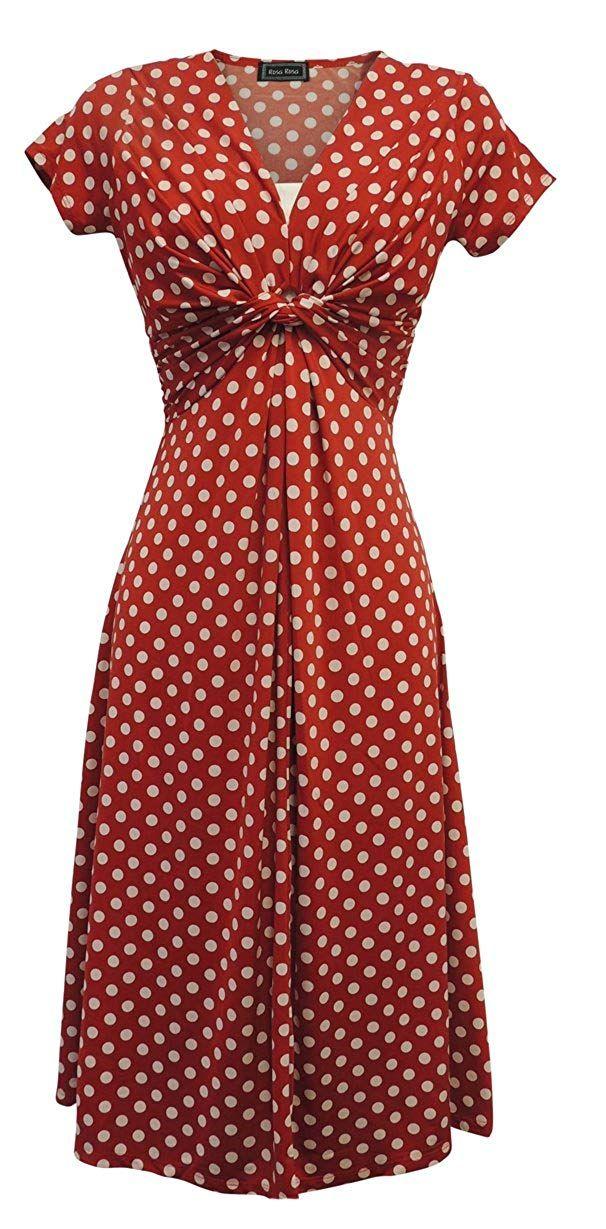 86b86cc66f Polka Dot Dresses  20s