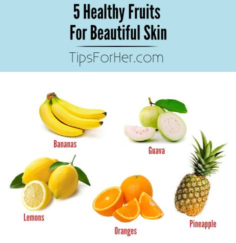 5 healthy fruits fruit of the loom