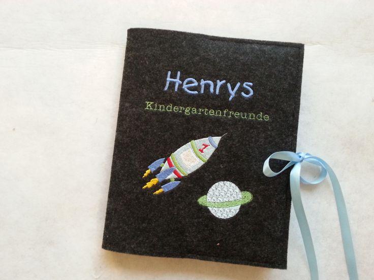 Kindergartenfreundebuch – Weltall