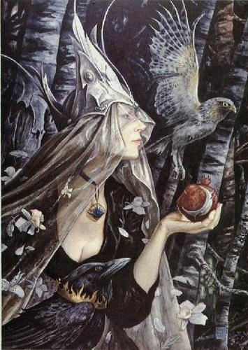 Queen of the Night by Brian Froud