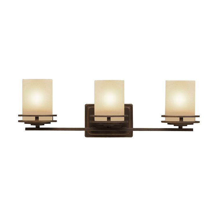 Kichler Lighting 5078 3-Light Hendrik™ Bathroom Light   ATG Stores