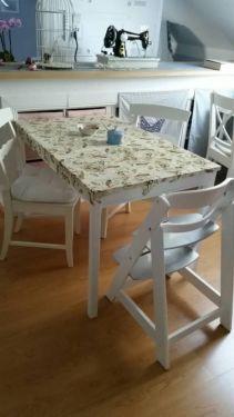 Superb Shabby Ess Tisch mit Vogelmuster in Niedersachsen Burgwedel Esstisch gebraucht kaufen eBay Kleinanzeigen