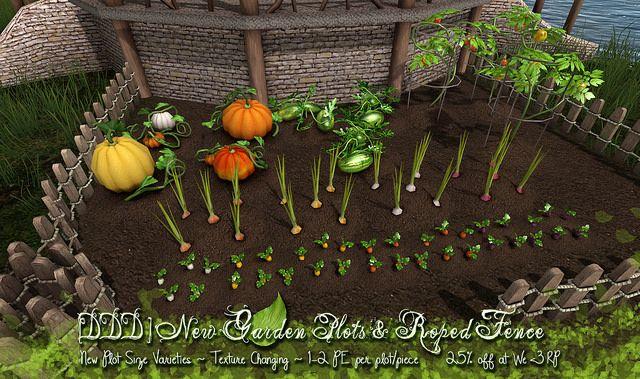 [DDD] New Garden Plots & Roped Fence   Flickr - Photo Sharing!