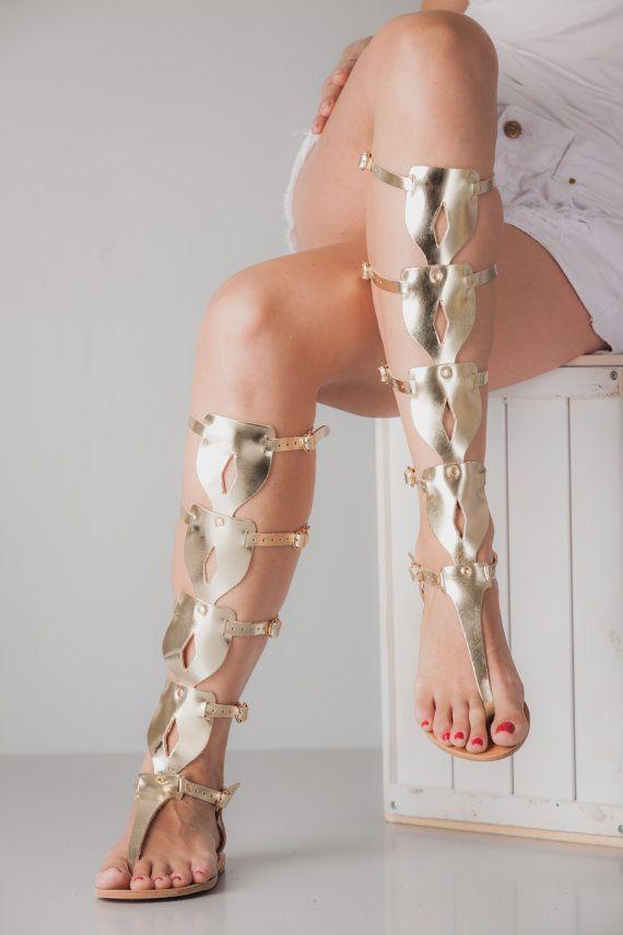 EU 36 Women's Gladiator Sandals Greek Sandals by TheMerakiCompany