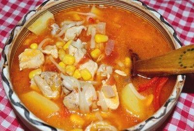 Supa de pui cu legume si taitei #reteta #supa