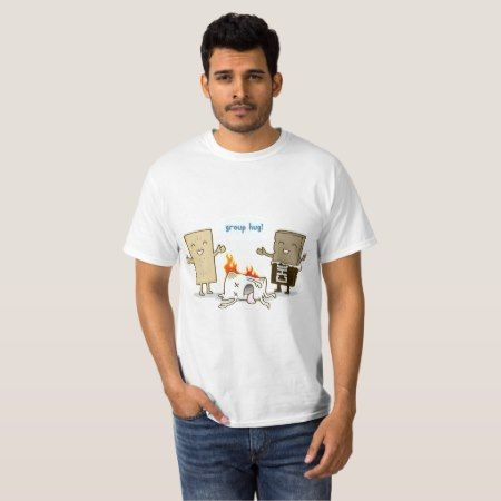 Funny S'mores - Group Hug! T-Shirt - tap, personalize, buy right now!