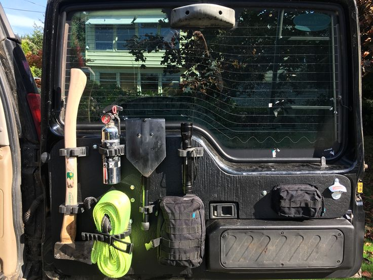 Land Rover discovery 2 storage ideas