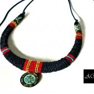 Colier – HIBAH by EXOTIC AFRICAN JEWELRY COLLECTION