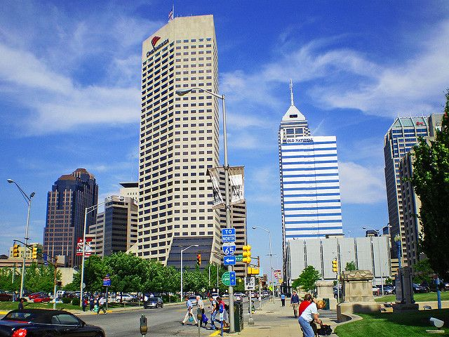 3. Instead of downtown Indianapolis...