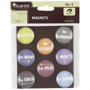 Quartet To Do Magnets 8pk