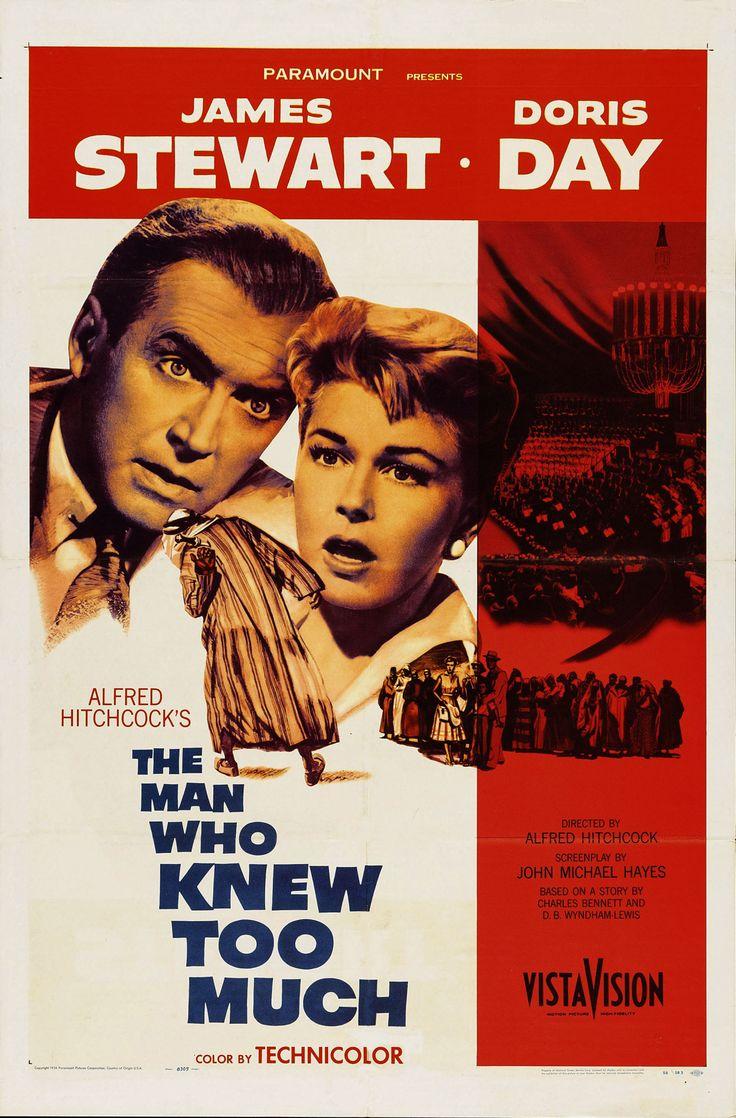 El hombre que sabía demasiado (The Man who Knew Too Much), de Alfred Hitchcock, 1956