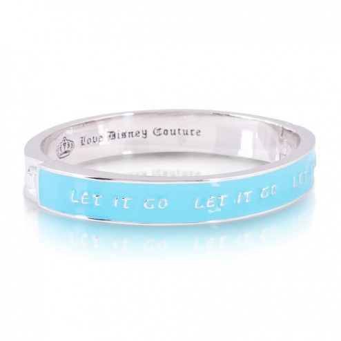 Disney Couture Frozen Let it Go Bangle Bracelet at aquaruby.com