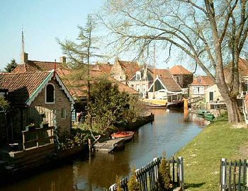 ♥ Hindeloopen, Friesland