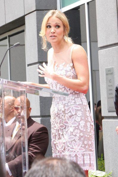 Carrie Underwood and Simon Fuller - Simon Fuller on the Hollywood Walk of Fame 2