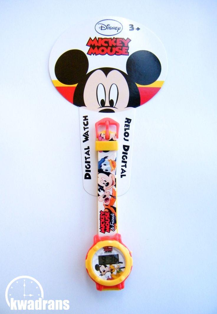 Original DISNEY watch for boys - MICKEY MOUSE wristwatch #watch #disney Oryginalny zegarek Disneya dla dzieci - Zegarek z Myszką Miki