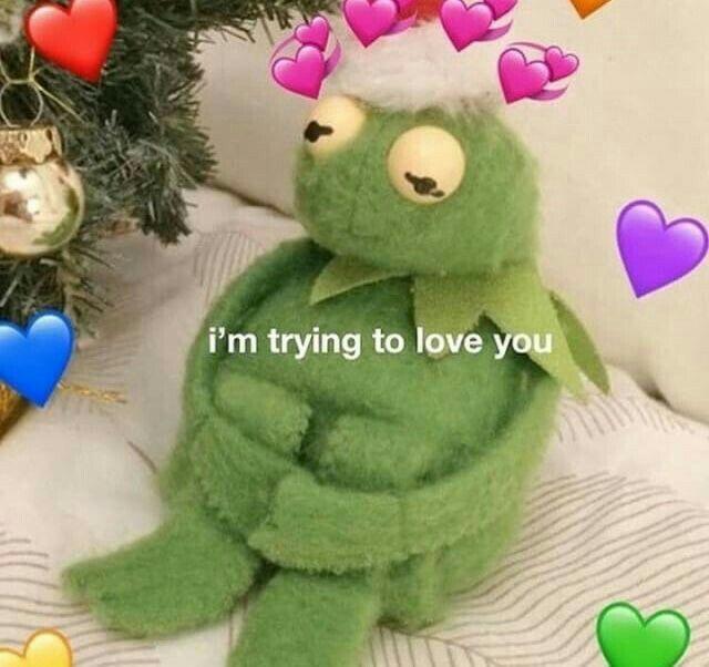 Download Affection Kermit The Frog Love Meme Png Gif Base