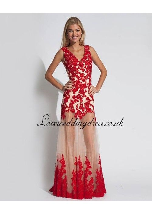 1000  images about Red lace dresses ❤   on Pinterest - Red gowns ...