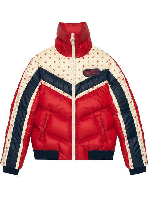 69f95f85cd Gucci Nylon Jacket With Gucci Patch in 2019 | 服装 | Jackets, Gucci ...