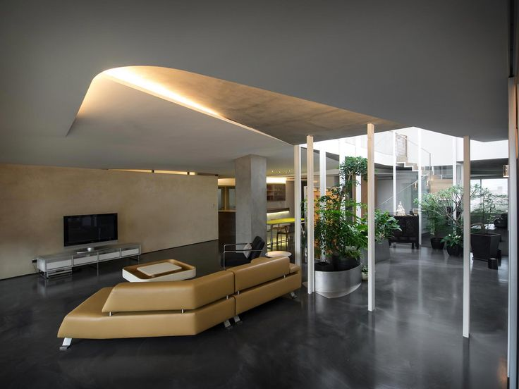 Sky Villa On The Top Floor Of A High Rise Building In Downtown Taipei By CJ