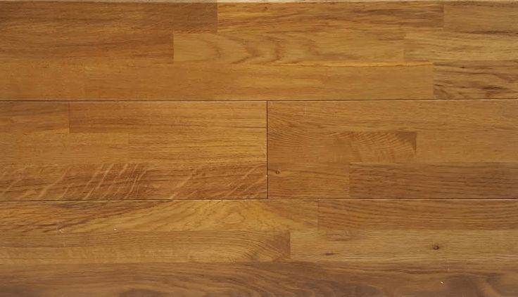 "Yulf Design & Flooring Hardwood Flooring - Art Collection Tawny Oak 5/8in Thick X 5 Wide X Random Length Solid Hardwood Flooring (12.92 sq. ft. / box) / Oak / 5"" / Finished"