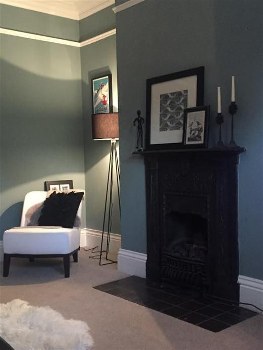 25 best images about oval room blue living room on pinterest - Farrow and ball lyon ...